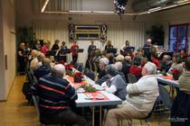 Jochem Brammertz, Fotografie, Volksmusikanten, St. Barbara, St. Apollonian, Aachen, Auftritt, Volkstümliche Weihnacht